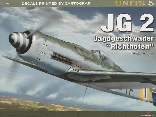 JG 2. Jagdgeschwader Richthofen (Units #5) Cover Image