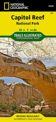 Capitol Reef National Park (National Geographic Trails Illustrated Map #267) Cover Image