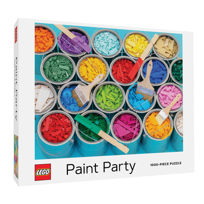 LEGO Paint Party Puzzle Cover Image