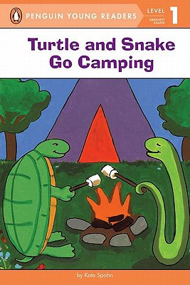 Turtle and Snake Go Camping (Penguin Young Readers, Level 1) Cover Image
