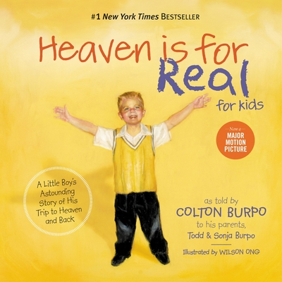 Heaven Is for Real for Kids Cover Image