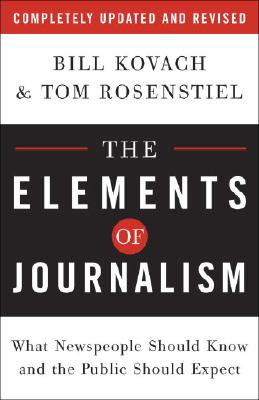 The Elements of Journalism Cover