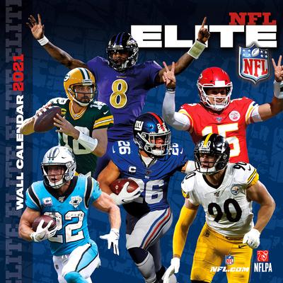 NFL Elite 2021 12x12 Wall Calendar Cover Image