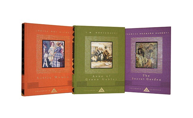 Everyman Library Children's Classics: Coming of Age Set: Little Women/The Secret Garden/Anne of Green Gables Cover Image