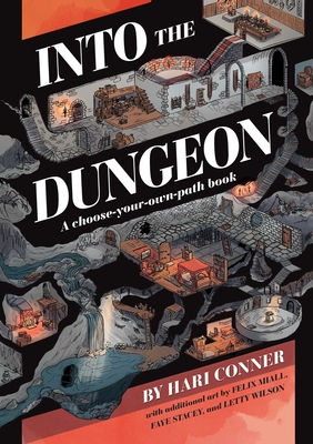Into the Dungeon: A Choose-Your-Own-Path Book Cover Image