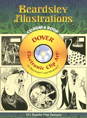 Beardsley Illustrations [With CDROM] (Dover Electronic Clip Art) Cover Image