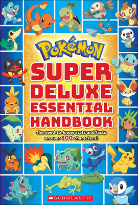 Pokemon Super Deluxe Essential Handbook Cover Image