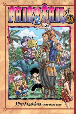 Fairy Tail V28 Cover