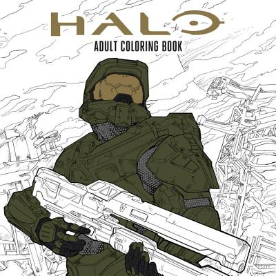 Halo Coloring Book cover image