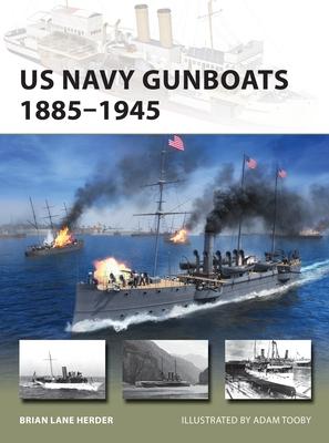 US Navy Gunboats 1885–1945 (New Vanguard) Cover Image