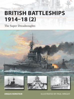 British Battleships 1914-18 (2) Cover