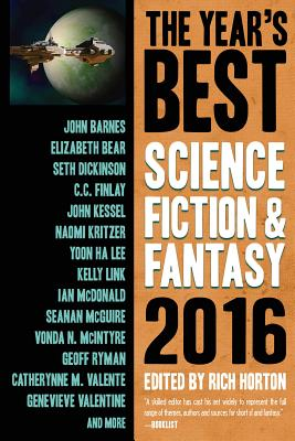 Cover for The Year's Best Science Fiction & Fantasy