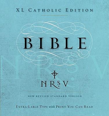 Catholic Bible-NRSV-Extra Large Print Cover Image