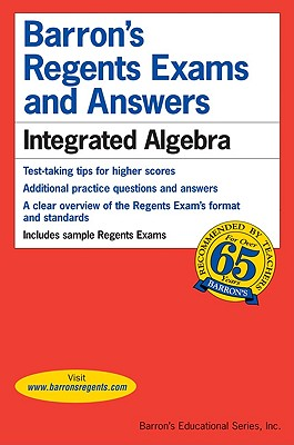 Barron's Regents Exams and Answers: Integrated Algebra Cover Image
