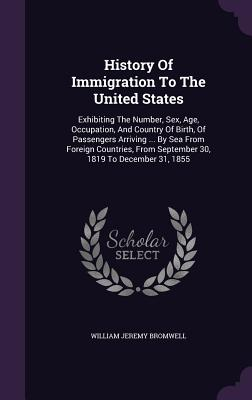 Cover for History of Immigration to the United States