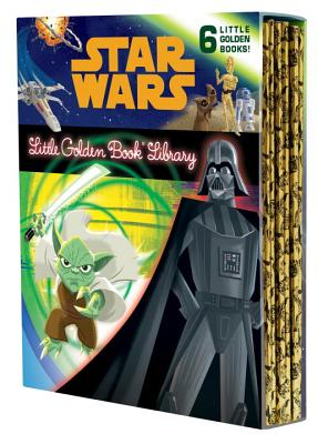 The Star Wars Little Golden Book Library Cover Image