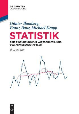 Statistik (de Gruyter Studium) cover
