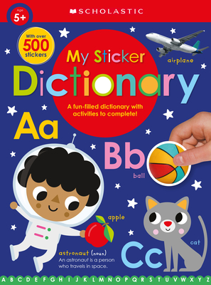 My Sticker Dictionary: Scholastic Early Learners (Sticker Book) Cover Image