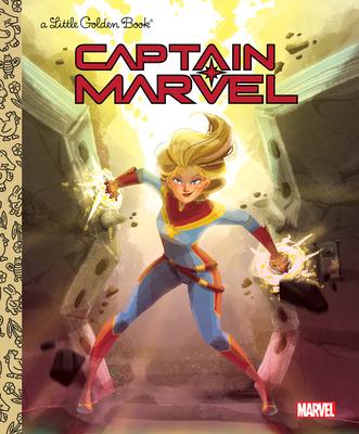 Captain Marvel Little Golden Book (Marvel) Cover Image