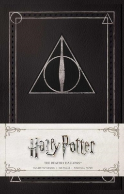 Harry Potter: The Deathly Hallows Ruled Notebook Cover Image