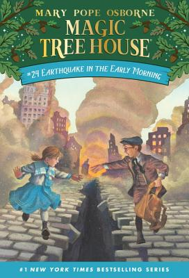 Earthquake in the Early Morning (Magic Tree House (R) #24) Cover Image