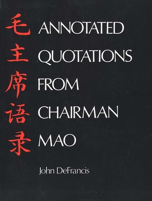 Cover for Annotated Quotations from Chairman Mao