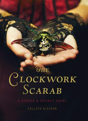 The Clockwork Scarab Cover