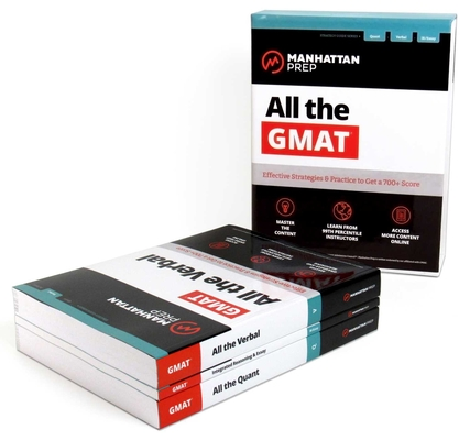 All the GMAT: Content Review + 6 Online Practice Tests + Effective Strategies to Get a 700+ Score (Manhattan Prep GMAT Strategy Guides) Cover Image