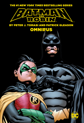 Batman & Robin by Tomasi & Gleason Omnibus Cover Image