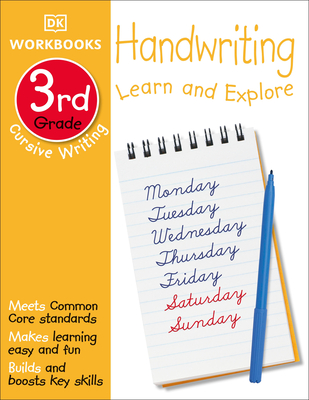 DK Workbooks: Handwriting: Cursive, Third Grade: Learn and Explore Cover Image