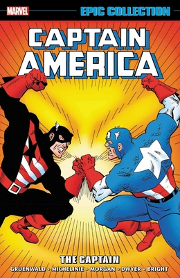 Captain America Epic Collection: The Captain Cover Image