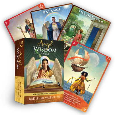 Angel Wisdom Tarot: A 78-Card Deck and Guidebook Cover Image