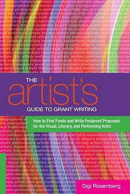 The Artist's Guide to Grant Writing Cover