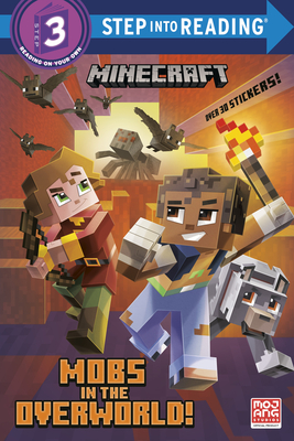 Mobs in the Overworld! (Minecraft) (Step into Reading) Cover Image