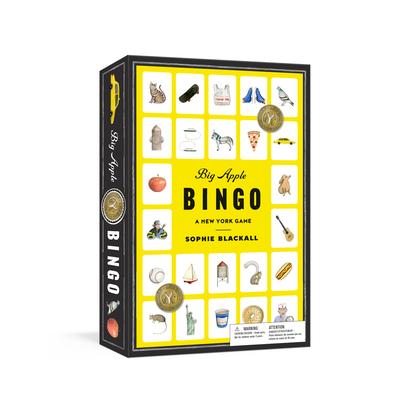 Big Apple Bingo: A New York Game: Board Games Cover Image