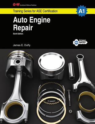 Auto Engine Repair Workbook, A1 Cover Image