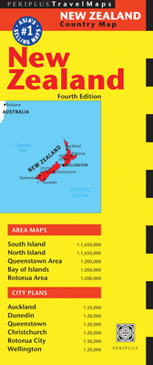 New Zealand Travel Map Fourth Edition (Australia Regional Maps) Cover Image