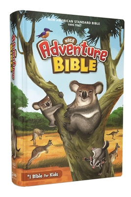 Nasb, Adventure Bible, Hardcover, Full Color Interior, Red Letter Edition, 1995 Text, Comfort Print Cover Image