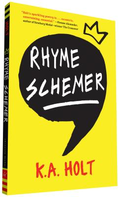 Rhyme Schemer: (Poetic Novel, Middle Grade Novel in Verse, Anti-Bullying Book for Reluctant Readers) Cover Image