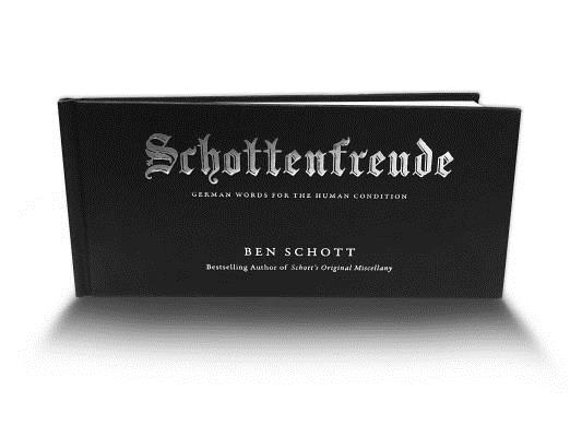 Schottenfreude: German Words for the Human Condition Cover Image