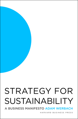 Strategy for Sustainability: A Business Manifesto Cover Image