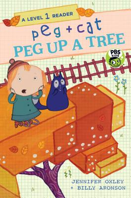 Peg + Cat: Peg Up a Tree: A Level 1 Reader Cover Image
