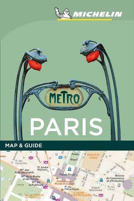 Michelin Paris Map & Guide (Michelin Map & Guide) Cover Image