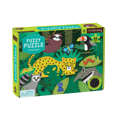 Rainforest Fuzzy Puzzle Cover Image