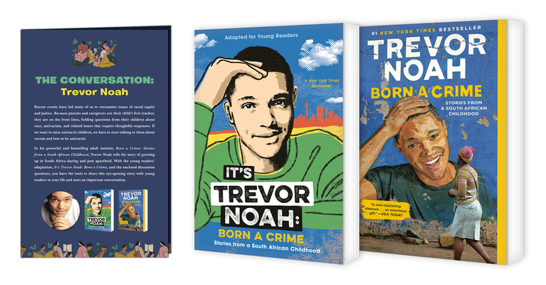 Trevor Noah: The Conversation Collection with Guide Cover Image