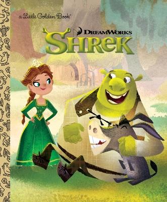 DreamWorks Shrek (Little Golden Book) Cover Image
