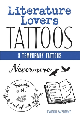 Literature Lovers Tattoos (Dover Tattoos) Cover Image