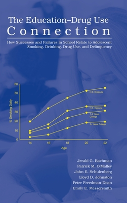 The Education-Drug Use Connection: How Successes and Failures in School Relate to Adolescent Smoking, Drinking, Drug Use, and Delinquency Cover Image