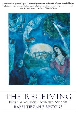 The Receiving: Reclaiming Jewish Women's Wisdom Cover Image