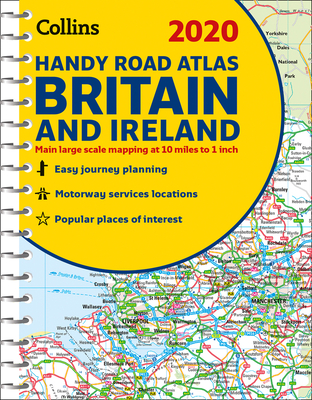 2020 Collins Handy Road Atlas Britain and Ireland Cover Image